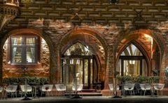Eingang vom Kaiserworth in Goslar