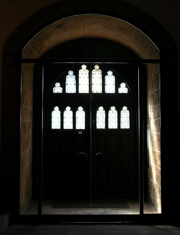 Eingang von innen - St. Martinikirche Minden