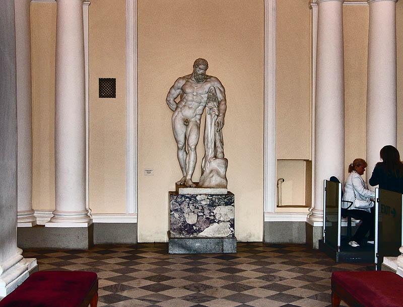 Eingang zum Hermitage-Museum