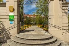 Eingang zum Hofgarten