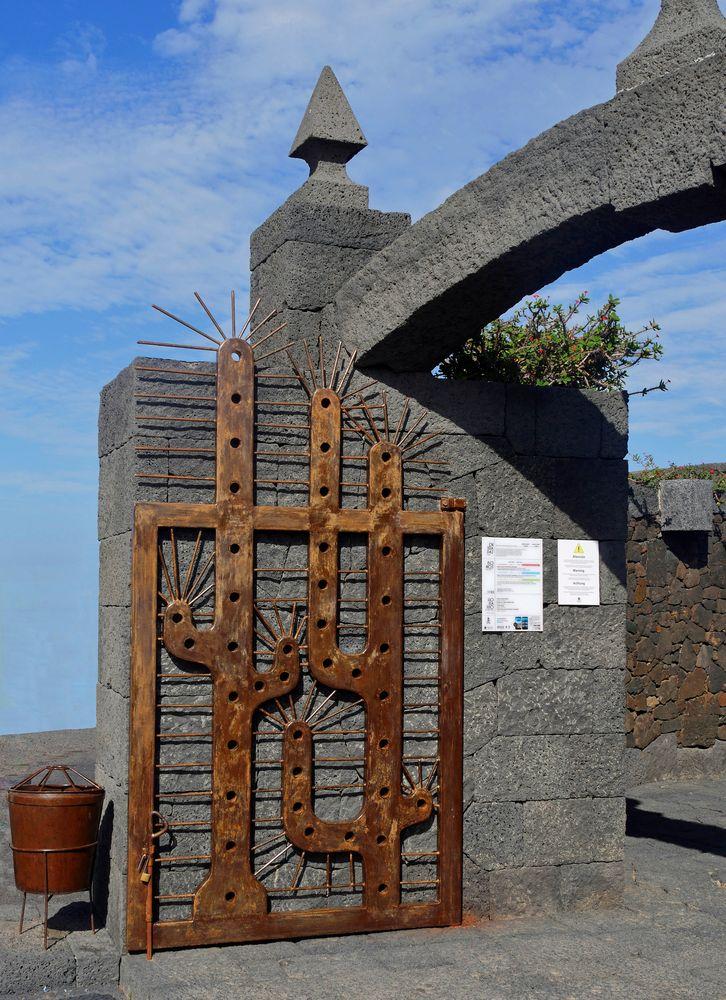 "Eingang zum "" Jardin de Cactus """