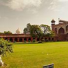 Eingang zum Taj Mahal (Tadsch Mahal)