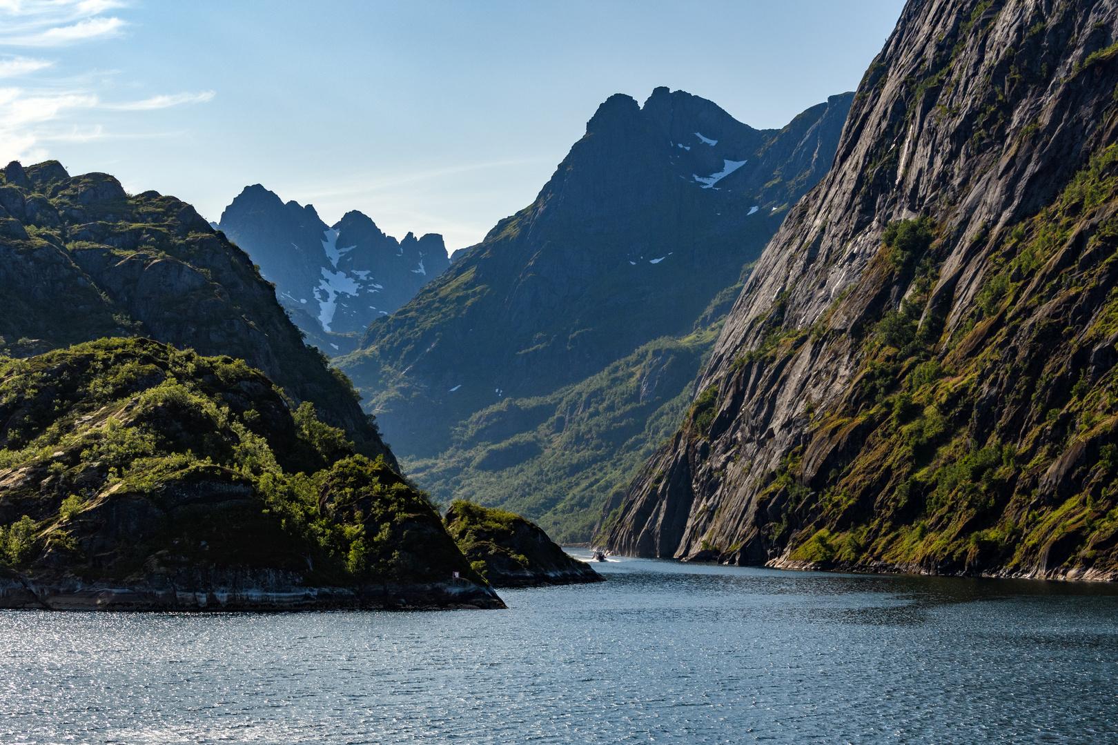 Eingang zum Trollfjord