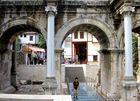 Eingang zur Altstadt von Antalya: : HADRIANSTOR