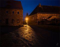 Eingang zur Burg Freckleben