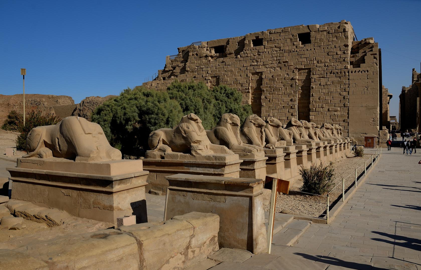 Eingangsbereich des Karnak-Tempels