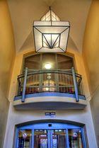 Eingangsbereich Rathaus Wilhelmsburg