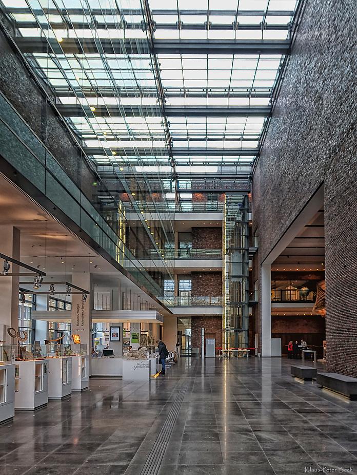 Eingangsbereich Rautenstrauch-Joest-Museum