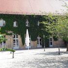 Eingangsbereich Schlossgaststätte in der Eremitage von Bayreuth
