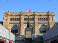 Eingangsportal Hauptbahnhof Hannover