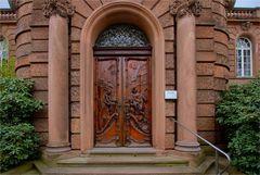 Eingangsportal vom Heydhof