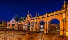 Eingangsportal Westfriedhof überarbeitet