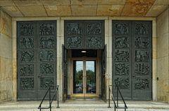 Eingangsportal zum Bergbaumuseum
