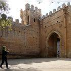 Eingangstor zur Chella