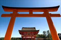Eingangstorii zum Fushimi-Inari-Schrein