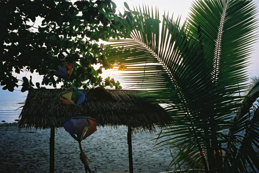 Eingefangene Sonnenstrahlen