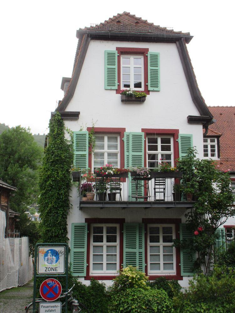 Eingewachsenes Stadthaus in Heidelberg