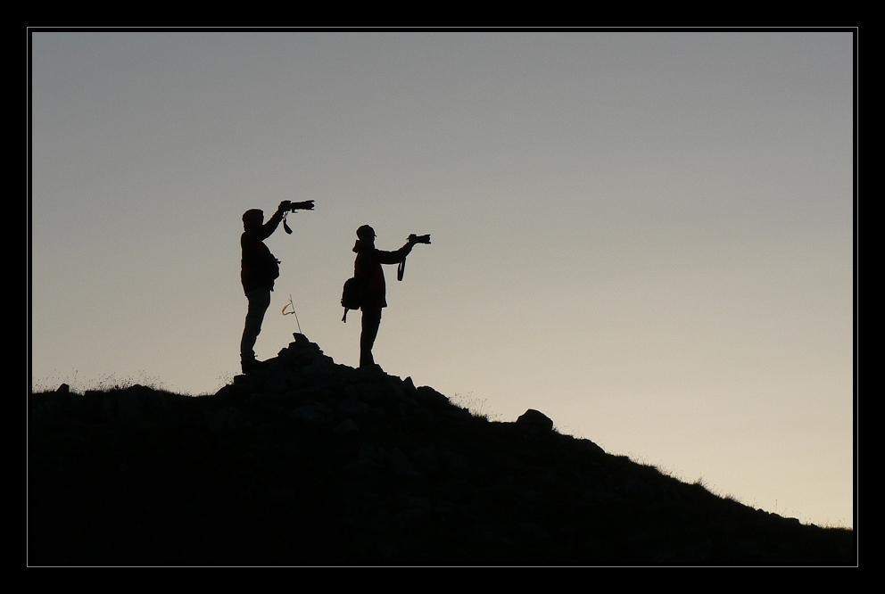 Einhändige Fotografen