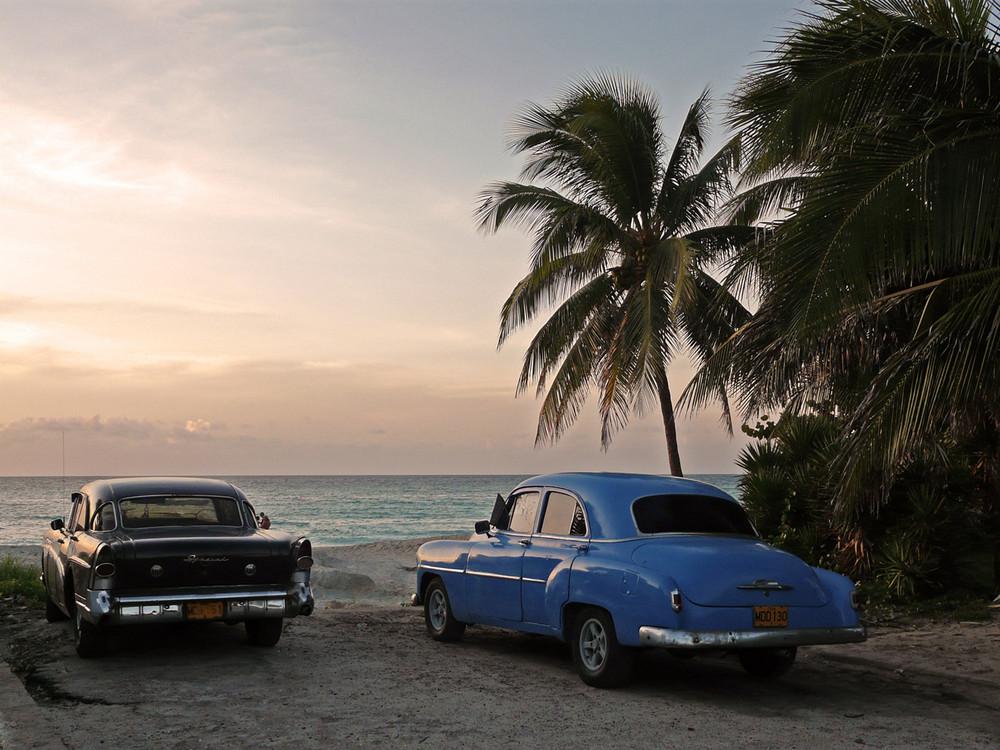 Einheimischenstrand auf Kuba