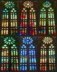 Einige der Fenster