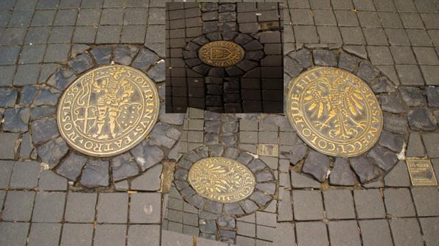 Einige Münzen Die In Neuss Hergestellt Wurden Foto Bild