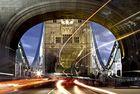 Einiges los auf der Tower Bridge......