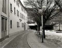 ... einiges steht noch : Blick von der Gotthardtstraße zur Krämerbrücke