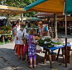 Einkauf auf dem Bauernmarkt in Graz!