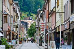 Einkaufsstrasse in Bad Wildbad