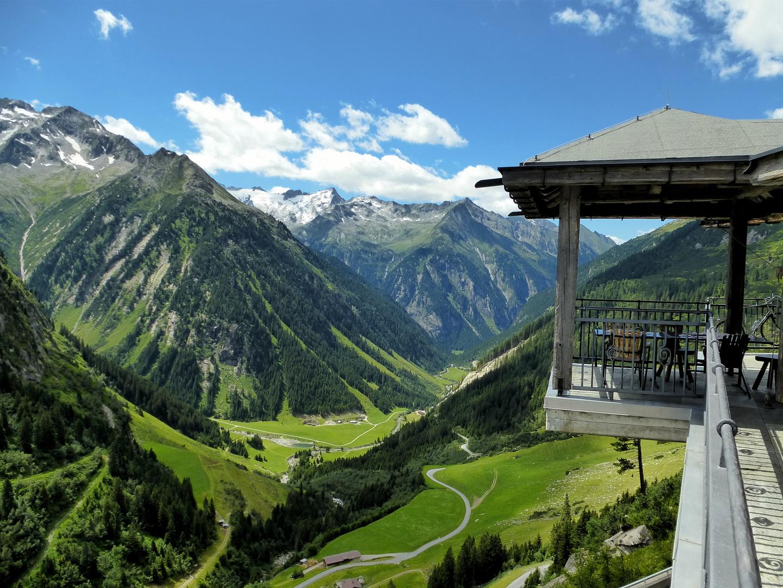 Einkehr zum Adlerblick Zillertal