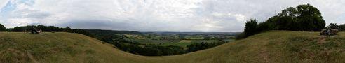 Einkorn Panorama von Erich Ruck