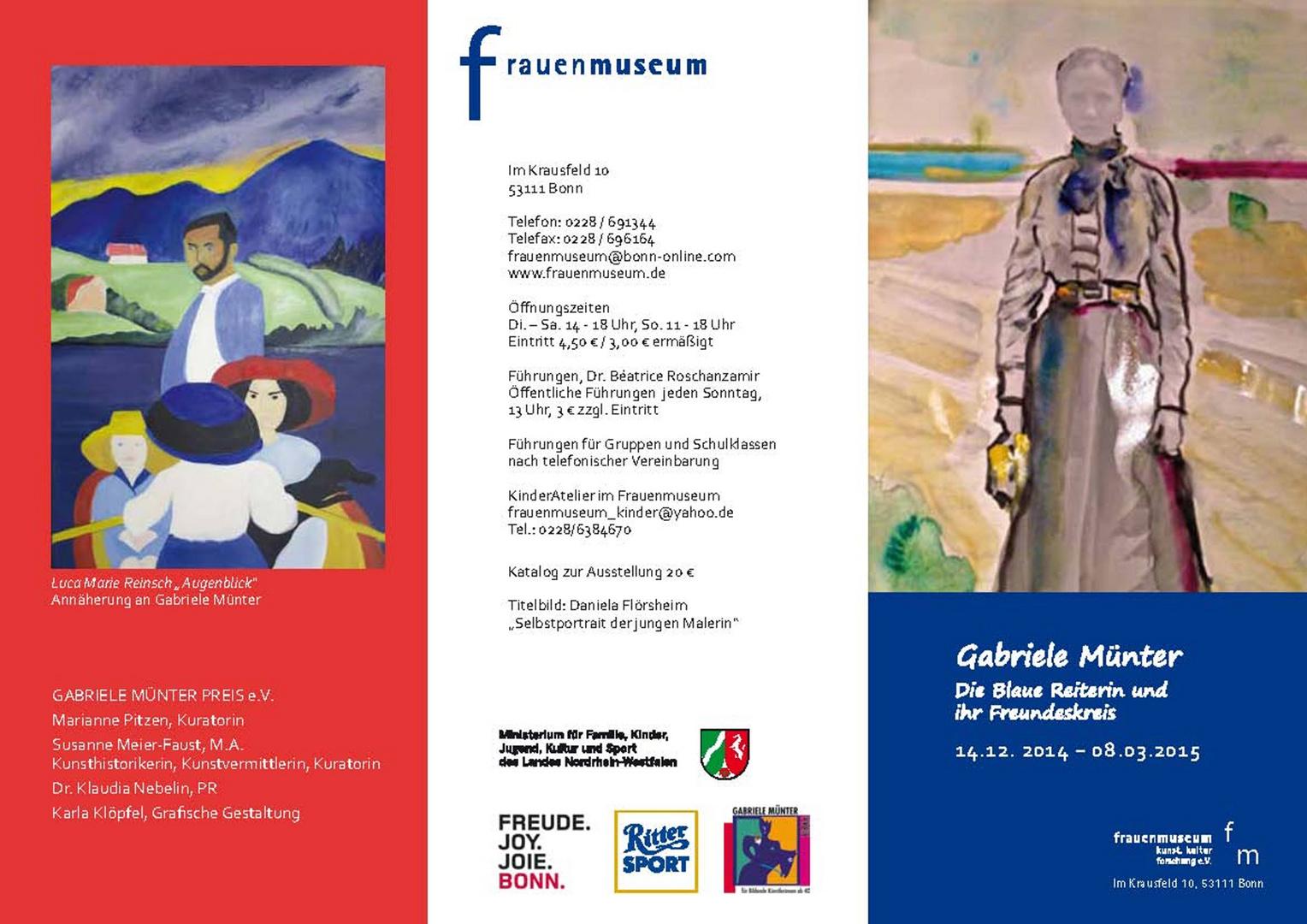Einladung - Ausstellung Gabriele Münter - Seite I