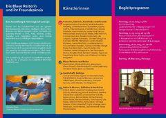 Einladung - Ausstellung Gabriele Münter - Seite II