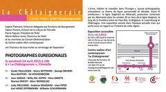 Einladung PHOTOGRAPHIES EUREGIONALES