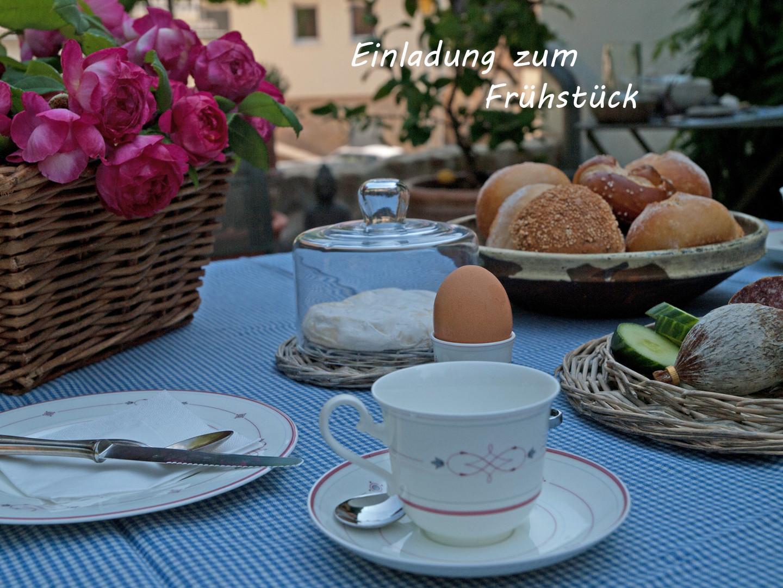 Einladung zum Frühstück....