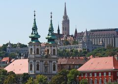 Einlaufen in Budapest