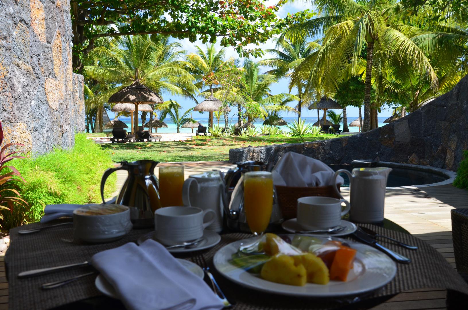 Einmal Frühstück mit Aussicht bitte