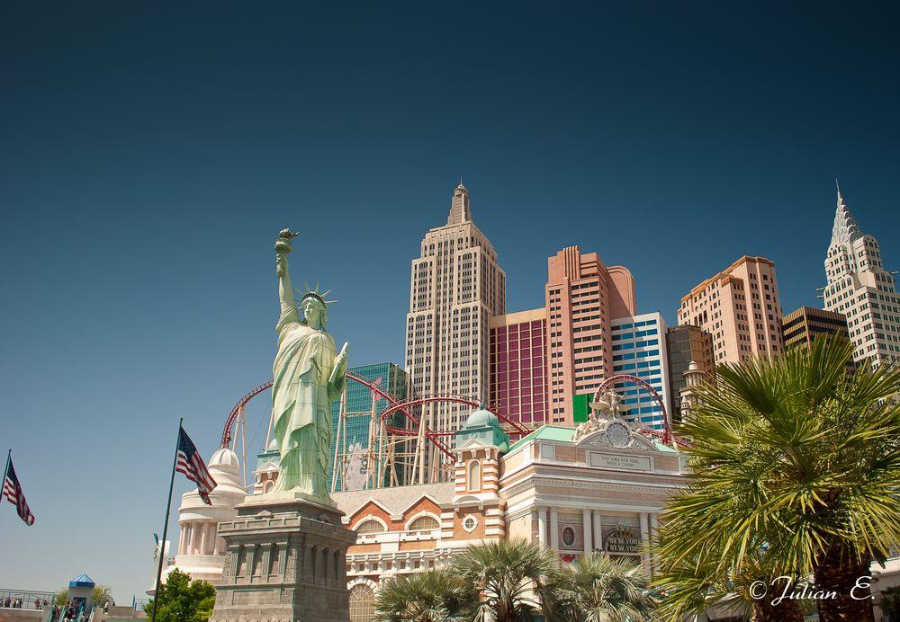 Einmal nach New York, bitte!...