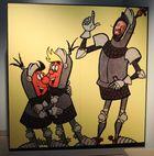 Einmal Ritter Runkel sein.