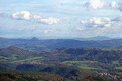 Einmalige Sicht bis ins Riesengebirge vom Hohen Schneeberg