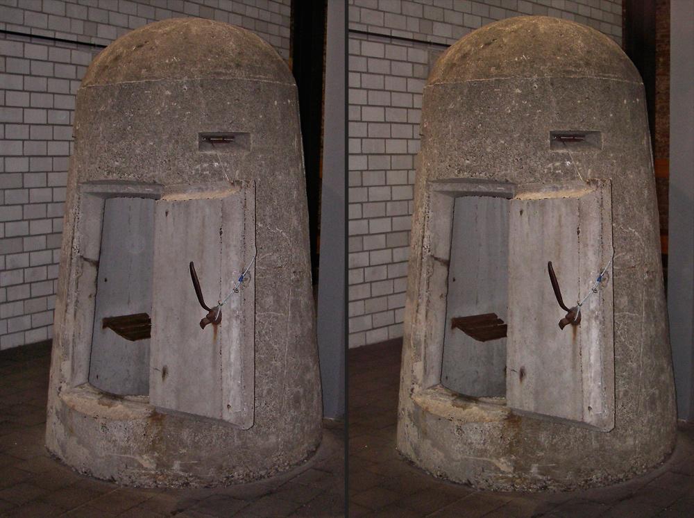 Einmann-Bunker Foto & Bild | stereoskopische raumbilder