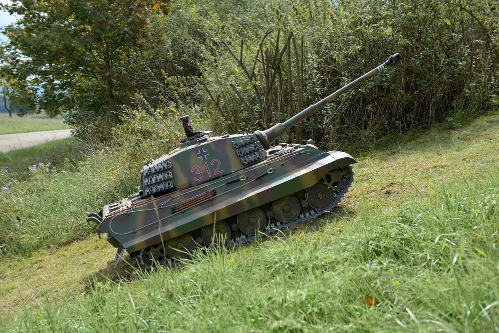 Einmarsch in Hohenlohe, die Panzer sind los