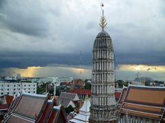 Eins der typischen Bangkok-Gewitter
