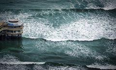 Einsam im Meer