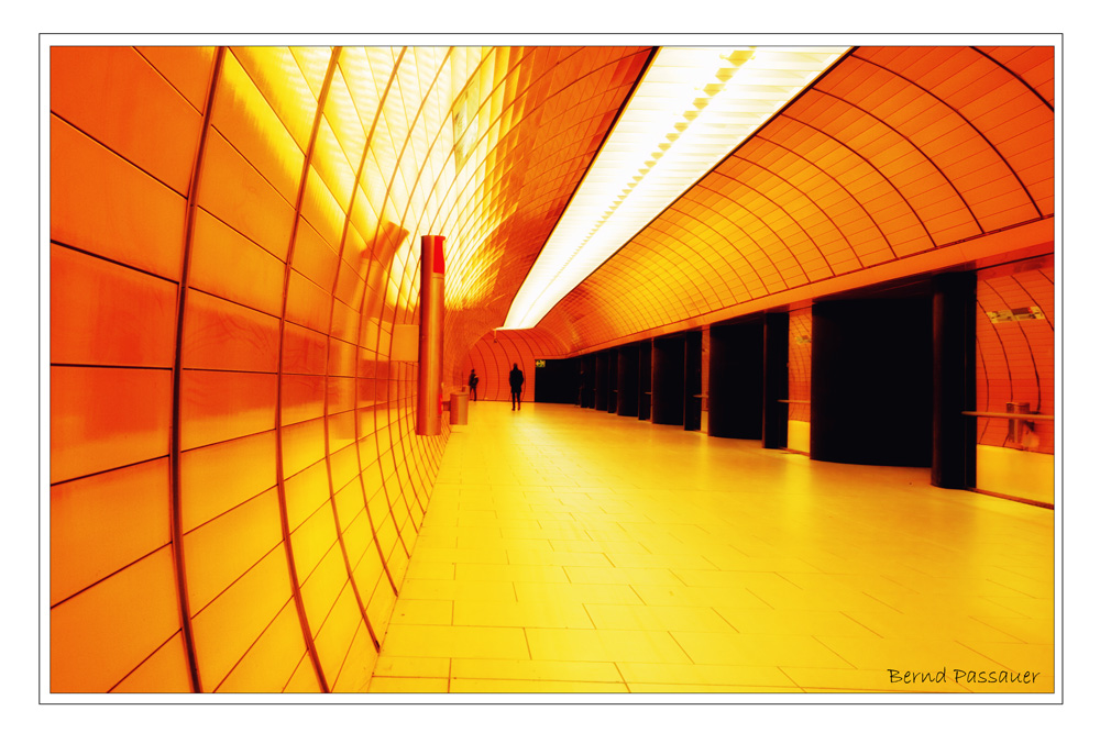 Einsam im Tunnel