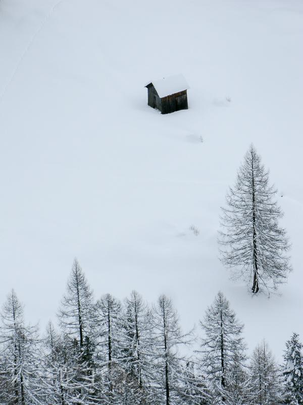 Einsam im Winter