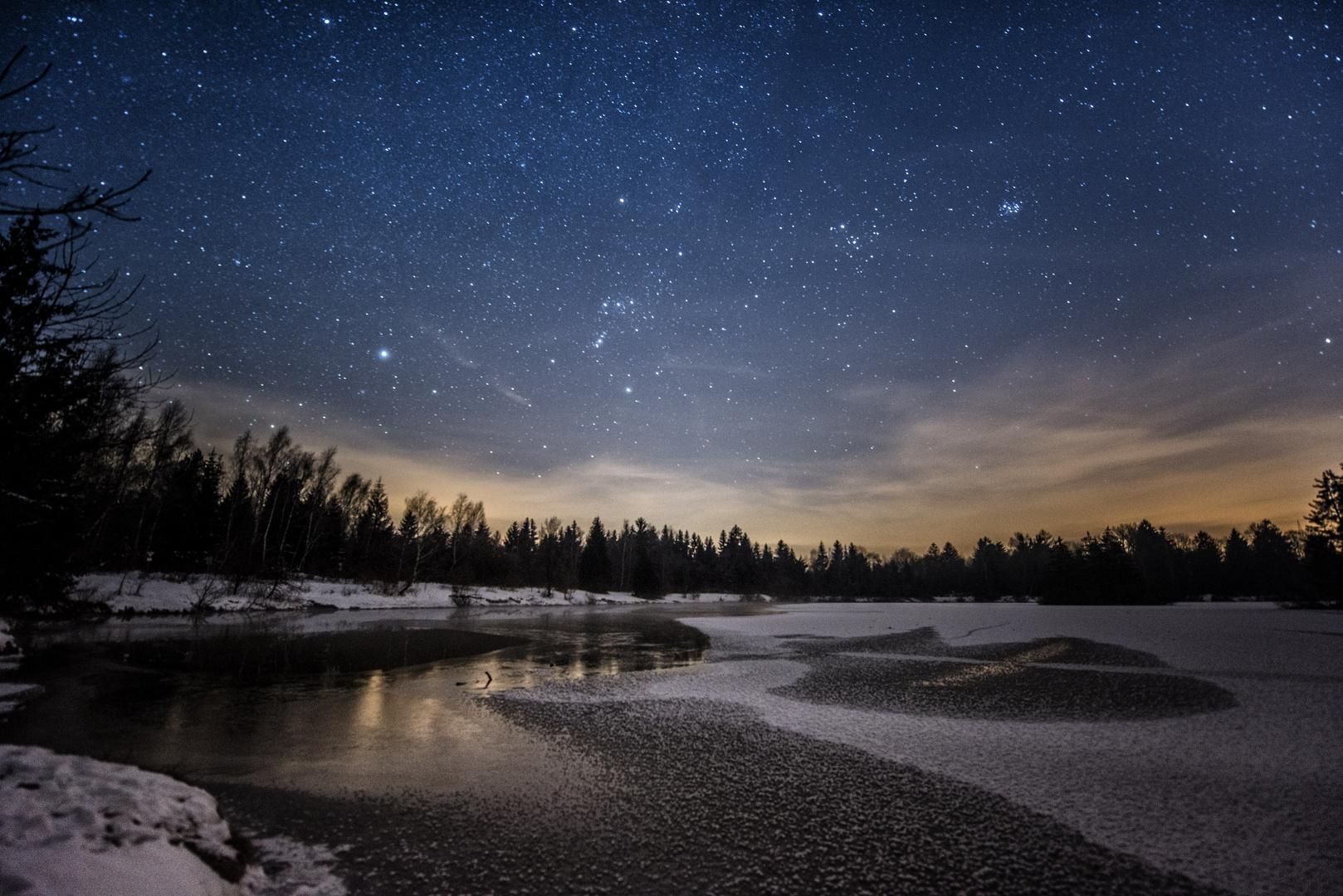 ~~ einsam in der Nacht ~~