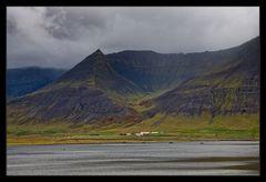 Einsam wohnen in den Westfjorden