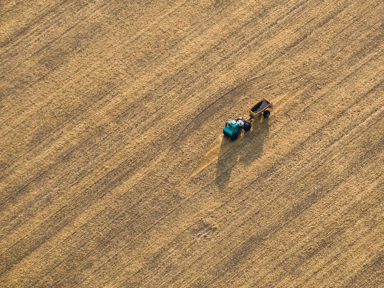 einsame Landwirtschaft