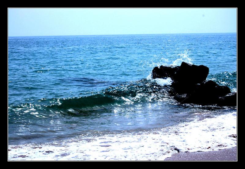 einsame Wellen